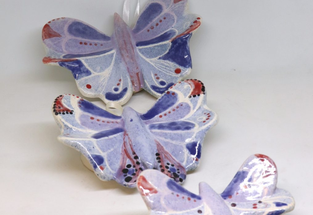 Three Butterflies – Tri leptira