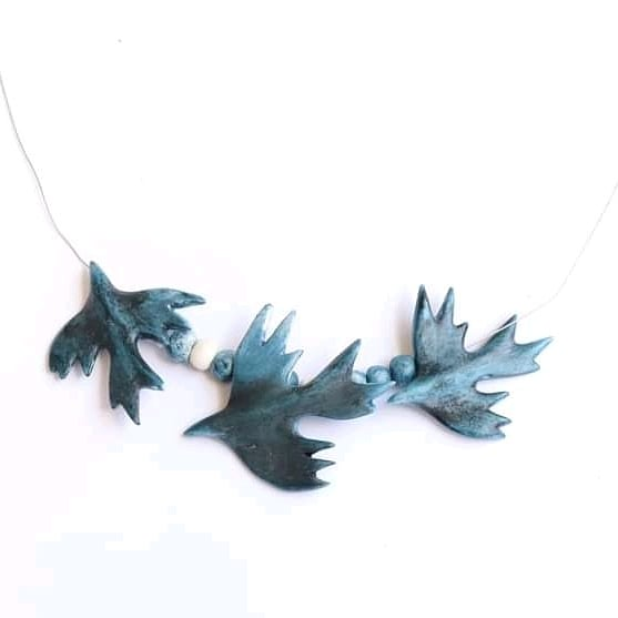 Ogrlica Plave ptice.