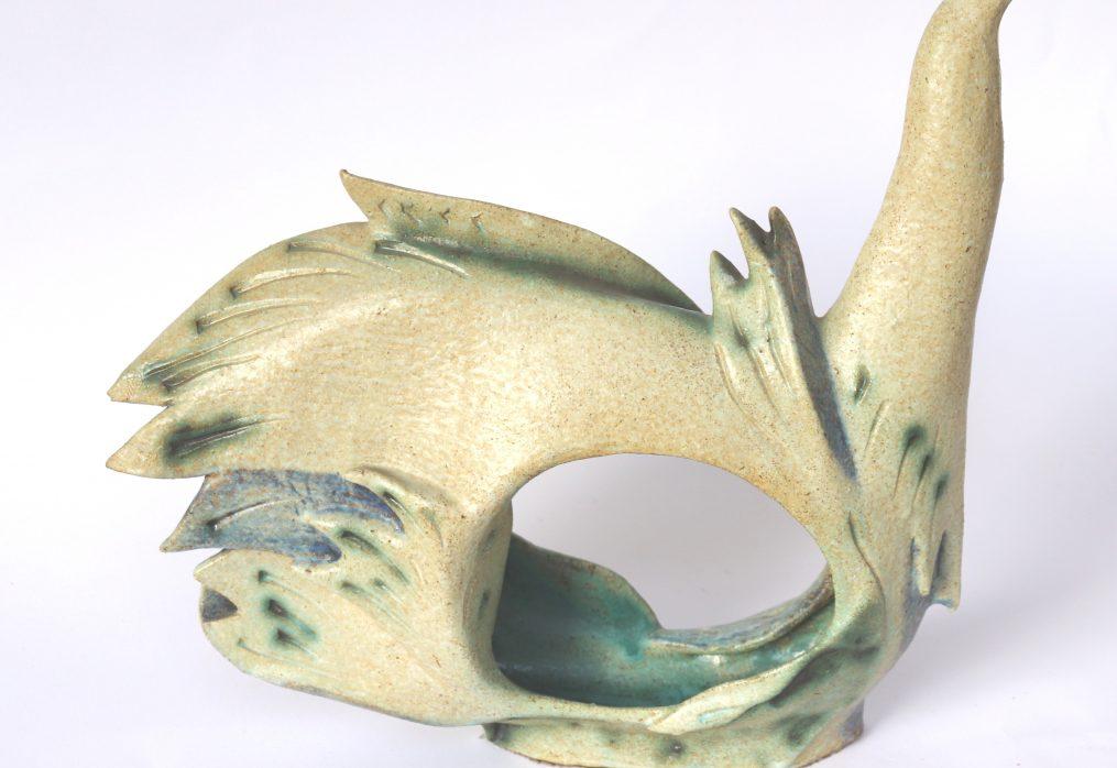 Contemporary  Bird Sculpture